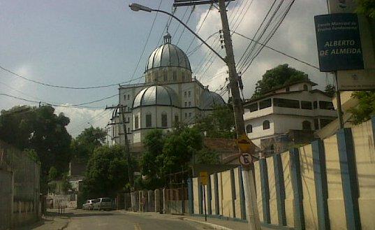 Vista da chegada ao Santuário