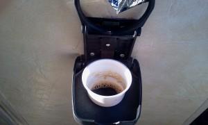 Um cafézinho a bordo.