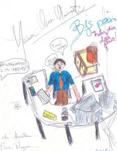 Desenho_Maria_Clara_dia_dos_pais_na_CAIXA